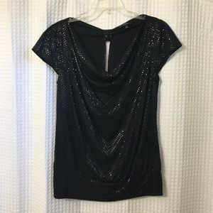 Express sparkly top